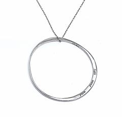 BREIL Halskette mit Edelstahlanhänger TJ0601